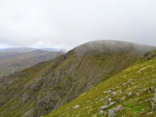 Looking back at Pen yr Ole Wen