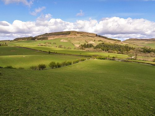 Cringle Moor from the slopes of Wath Hill