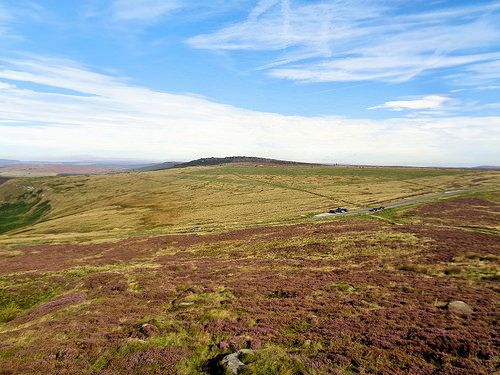 Stanage Edge from Higger Tor