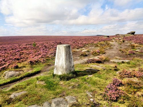 The Ox Stones trig point