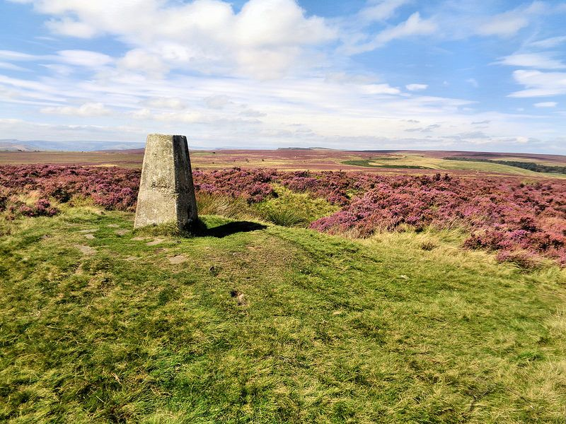 Trig point on Flask Edge