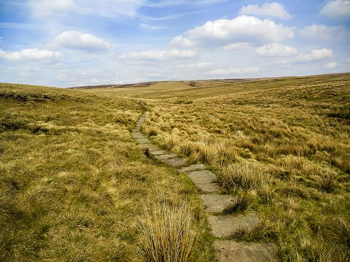 The Pennine Way to Black Hill