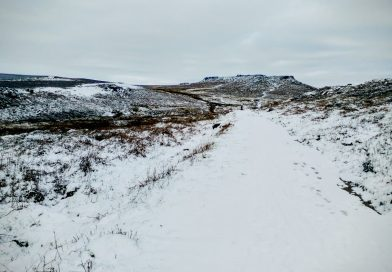 Burbage Rocks, Stanage Edge, Higger Tor, and Padley Gorge
