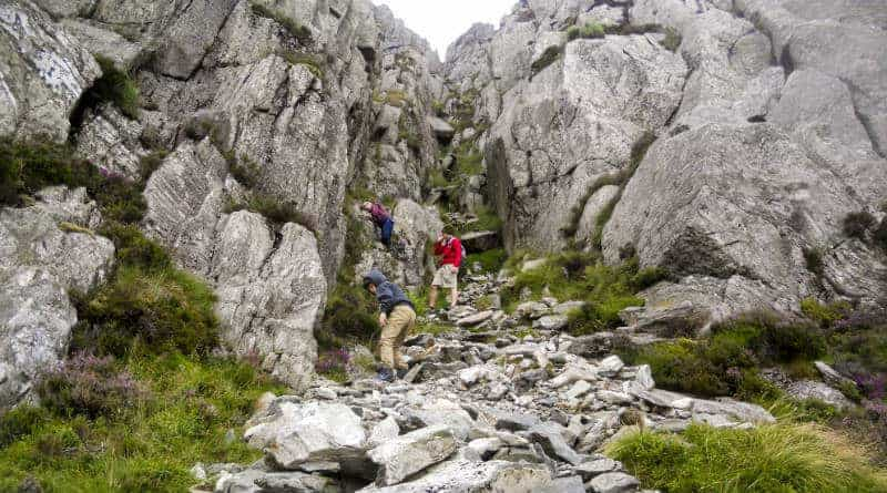 Milestone Gully, Tryfan North Ridge, and Nor Nor Groove