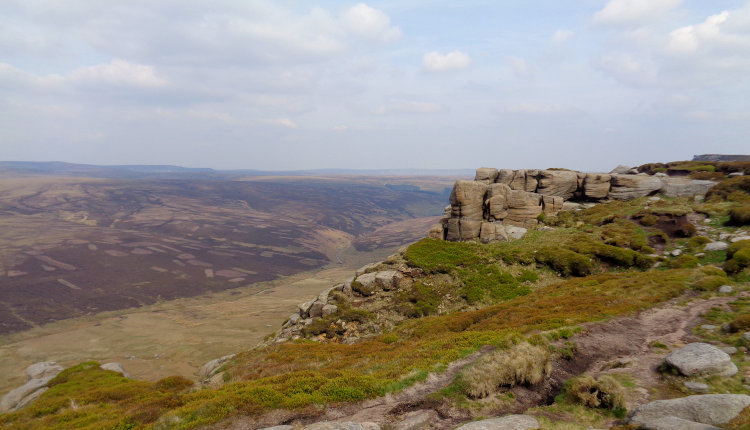 kinder scout north edge