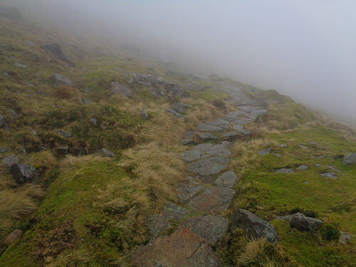 The path back to Langdale