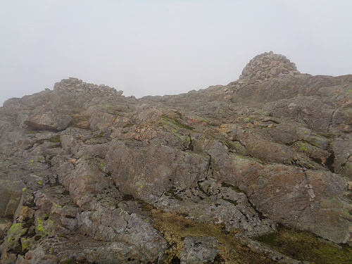 The summit of Pike of Blisco