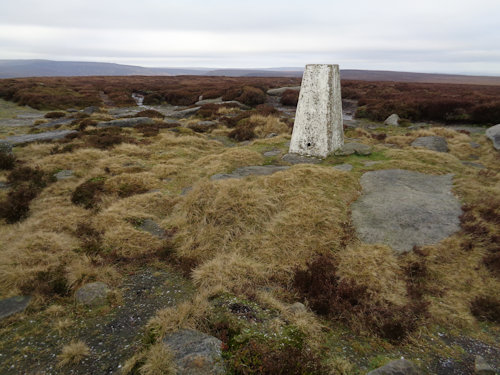 Margery Hill trig pillar