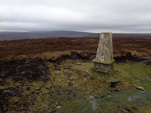 Outer Edge trig pillar