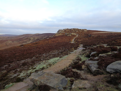 Heading towards Dovestone Tor on Derwent Edge
